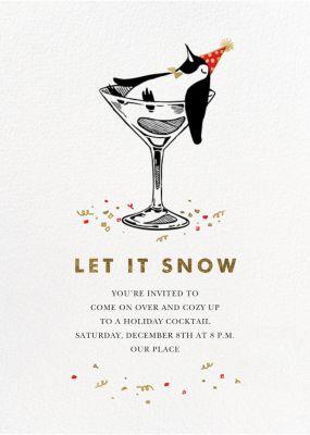Polar Hangover - Paperless Post - Holiday invitations
