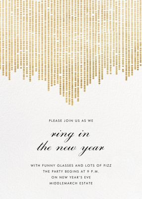 Josephine Baker - Paperless Post - Winter Party Invitations
