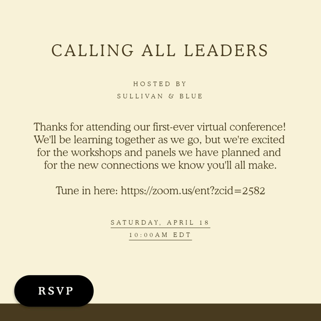 Virtual Leadership Conference