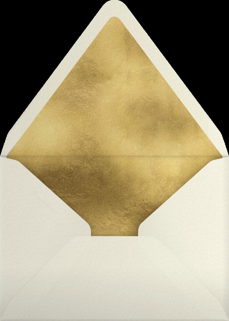 Gold Unikko - Hunter - Marimekko - Envelope