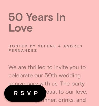 Anniversary Party Invitations Send Online Instantly Rsvp Tracking