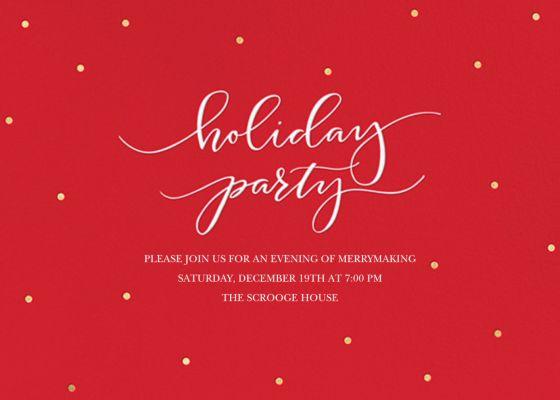 Holiday Dots - Sugar Paper - Company holiday party