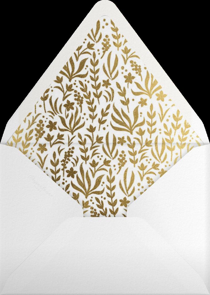 Étoile de Noël - White - Paperless Post - Envelope