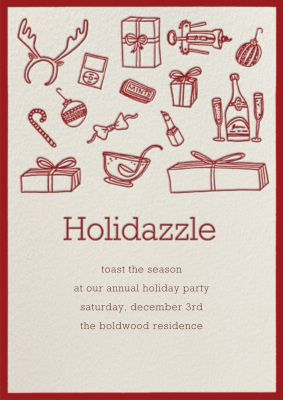 Holidazzle - Paperless Post - Holiday invitations