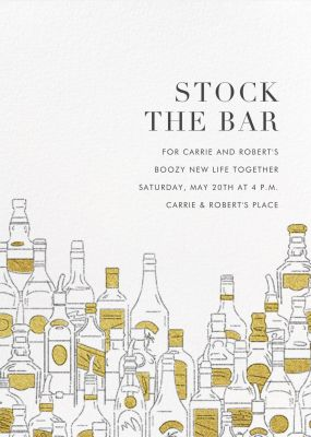 Behind the Bar - Paperless Post