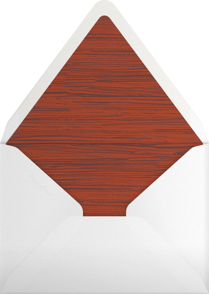 Cock of the Walk - Paperless Post - Envelope