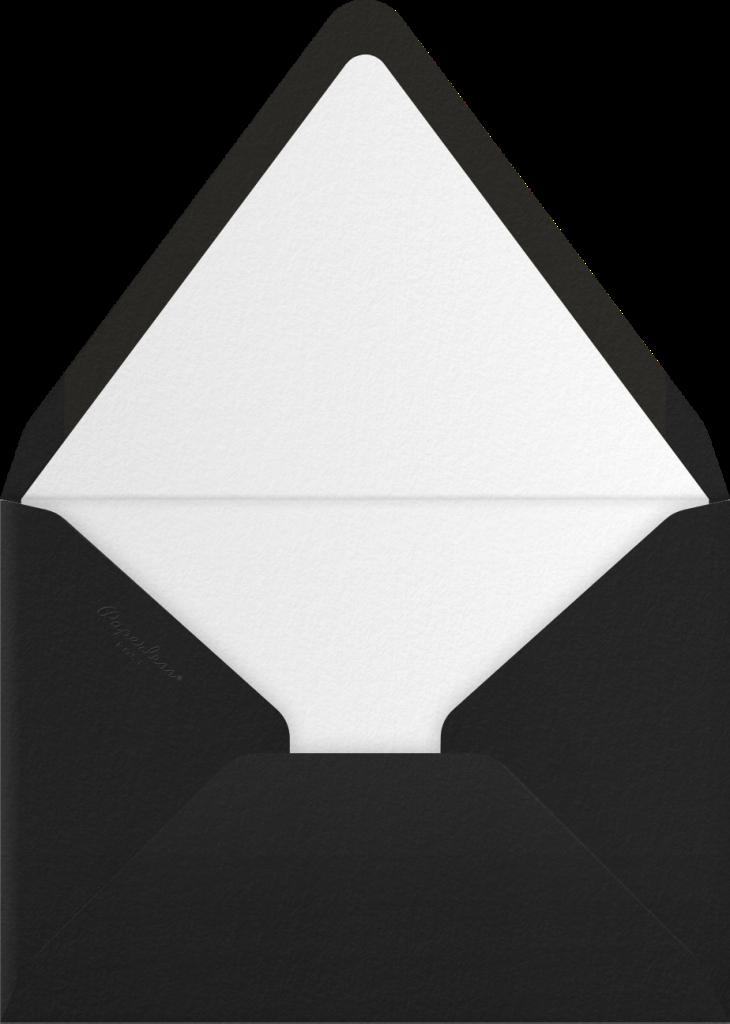 Radiant Boom Box - Paperless Post - Envelope