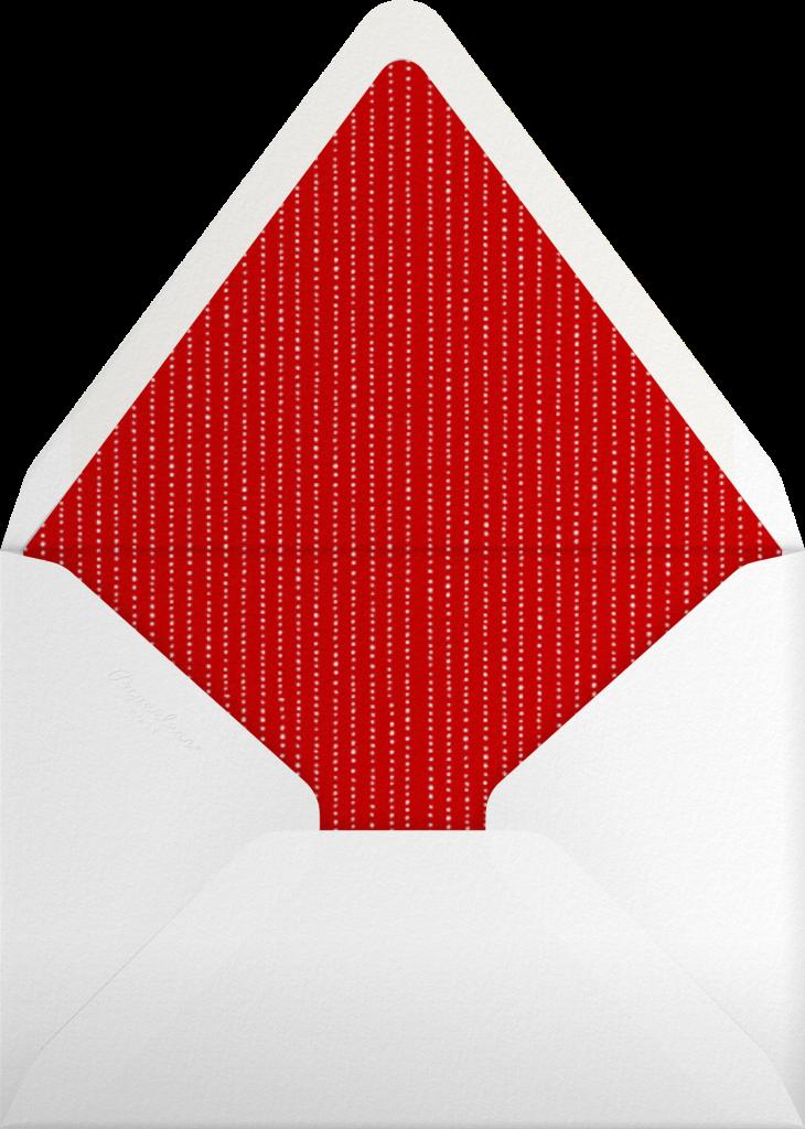 Winter Berries - Ivory (Flat Print) - Paperless Post - Envelope