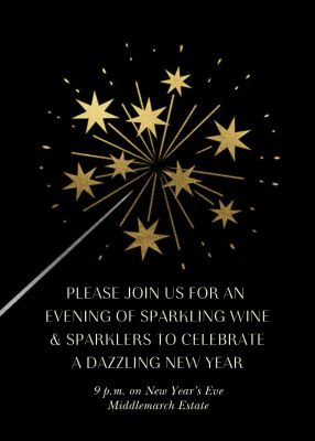 Bright and New - Paperless Post - New Year's Eve Invitations
