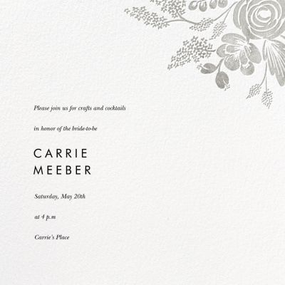 Heather and Lace (Save the Date) - Rifle Paper Co.