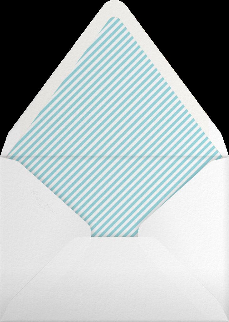 Flip The Burger - Blue - Mr. Boddington's Studio - Envelope
