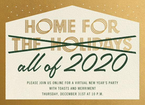 Home Forever - Paperless Post - Holiday invitations