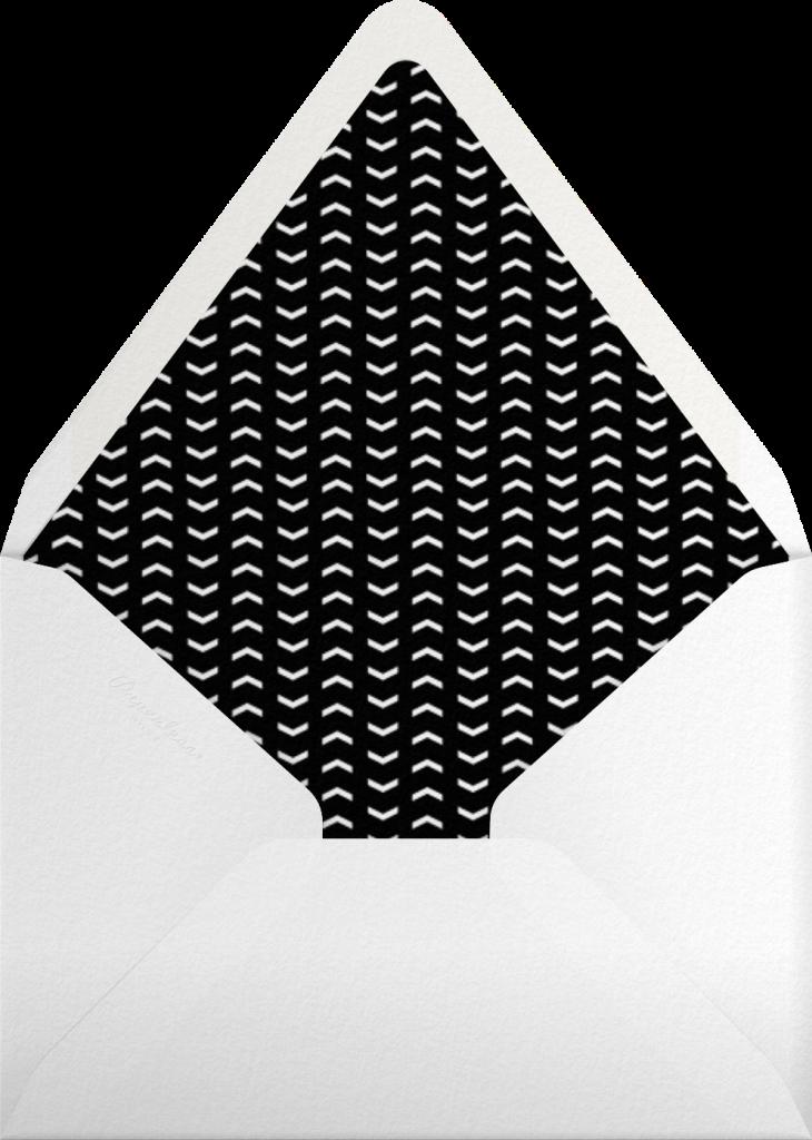 Christmas Labrador - Paperless Post - Envelope