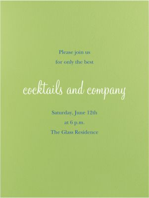 Charterhouse - Paperless Post - Spring Party Invitations