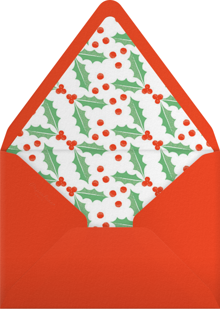 A Christmas Kennel - Paperless Post - Envelope