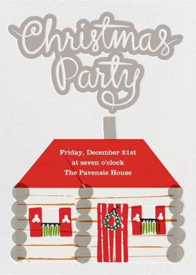 Christmas Party - Crate & Barrel
