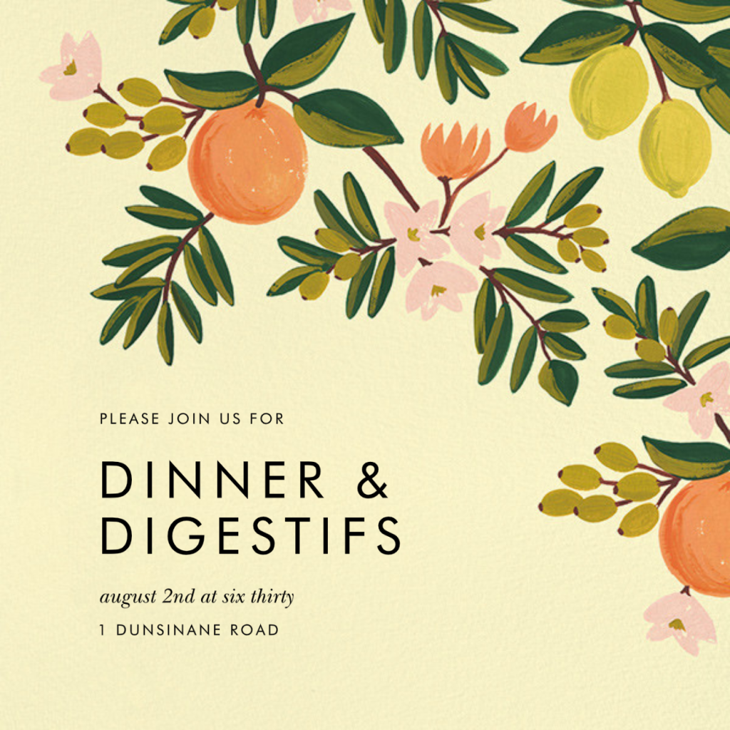 Citrus Orchard - Yellow - Rifle Paper Co.