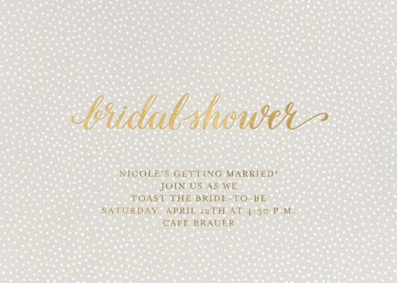 Bridal Flurry - Sugar Paper