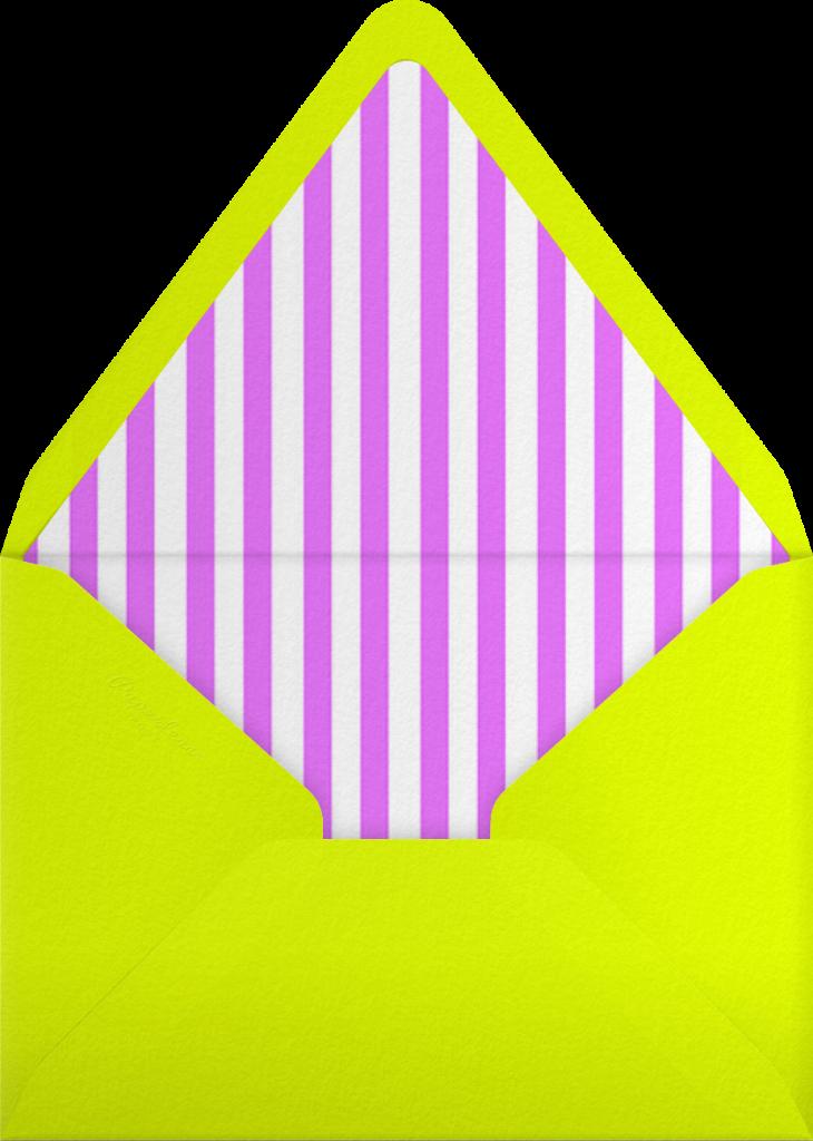 Montreal 1976 - Neon Orange - Paperless Post - Envelope