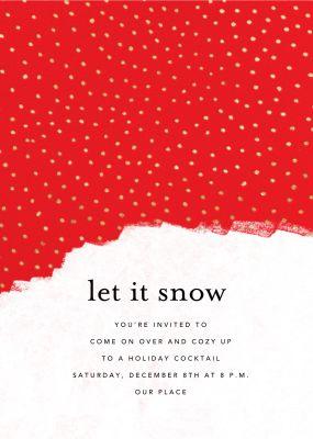 Confetti Snowfall - Ashley G