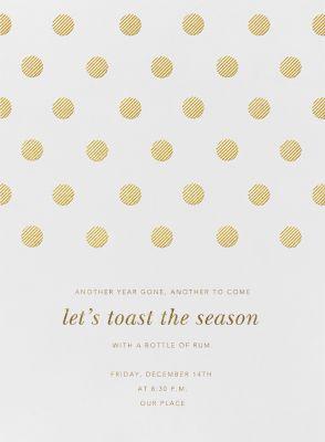 Polka Dot - Oscar de la Renta - Company holiday party