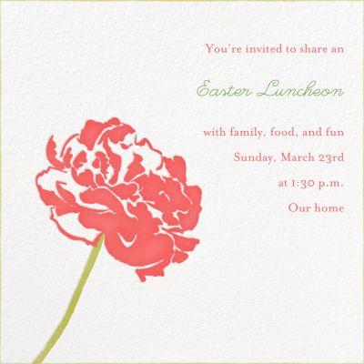 Carnation - Paperless Post