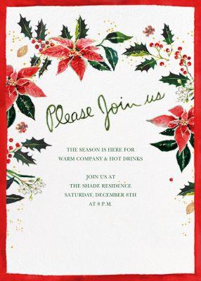 Holiday Harvest (Invitation) - Happy Menocal - Holiday invitations