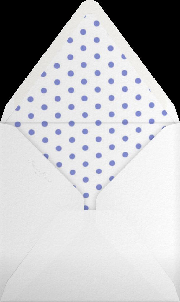 Carnaby - Blue - Paperless Post - Envelope
