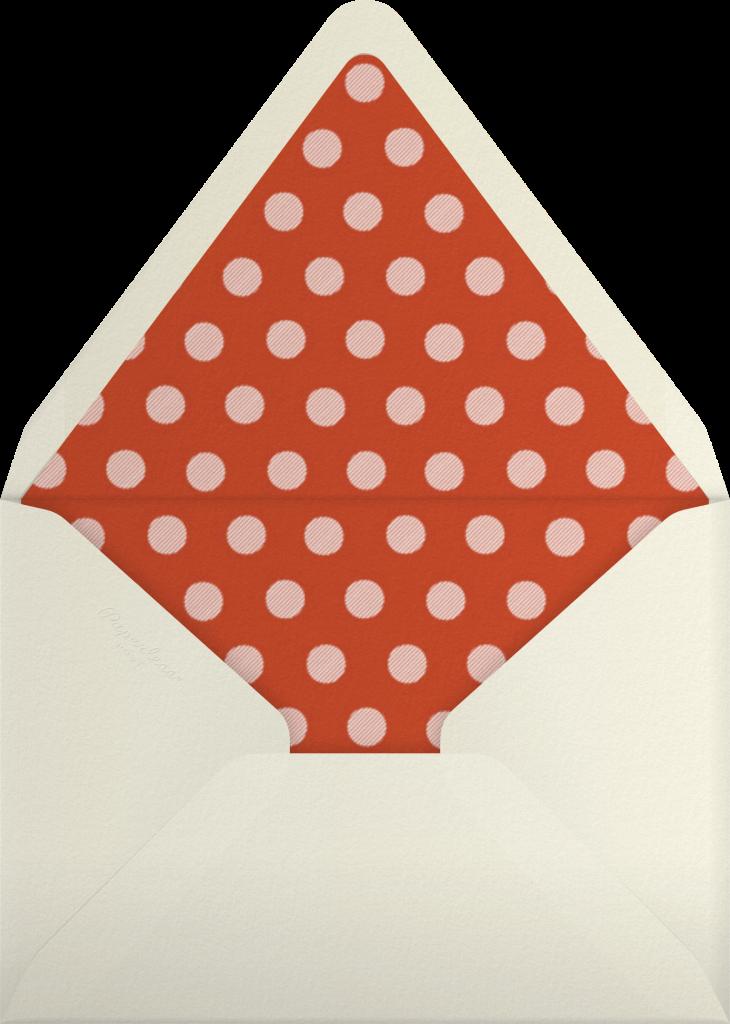 Bathing Beauties (Celadon) - Medium - Paperless Post - Envelope
