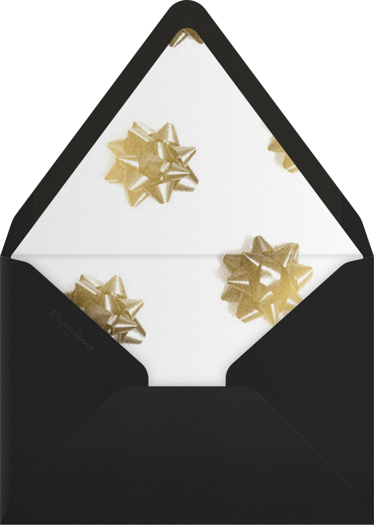 Unwrapped - White - Paperless Post - Envelope