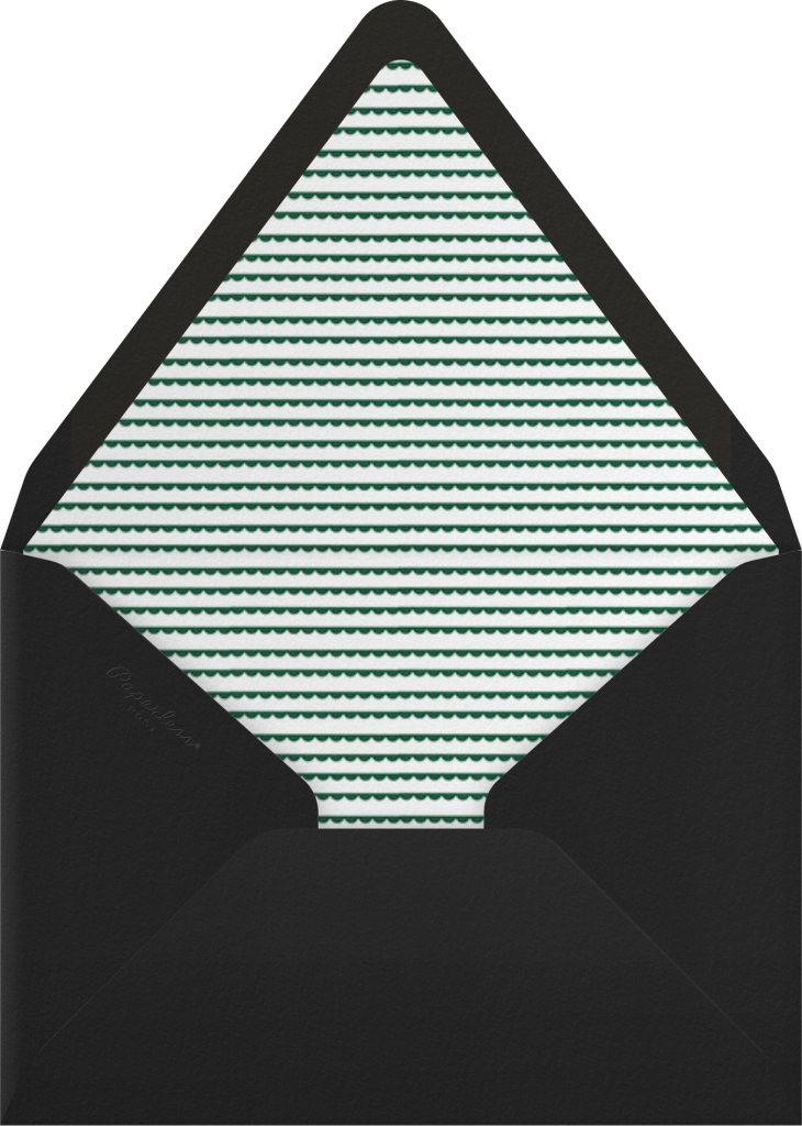 Tannenbaum Nightlight - Paperless Post - Envelope