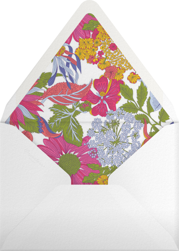 Angelica Garla (Invitation) - Liberty - Envelope