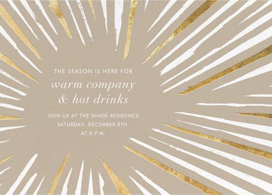 Amuse - Kelly Wearstler - Holiday invitations