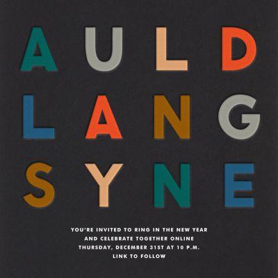 Auld Lang Syne - The Indigo Bunting