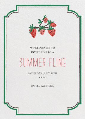 Pint of Strawberries - Mr. Boddington's Studio