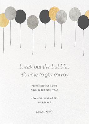 Balloons (New) - Paperless Post