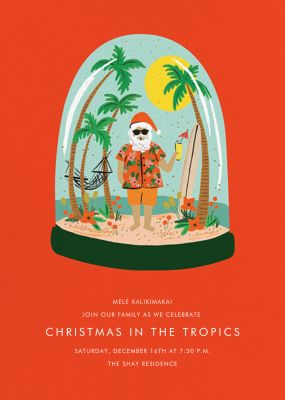 Wish You Were Here - Rifle Paper Co. - Holiday invitations