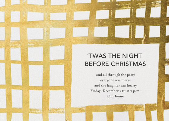 Woven Wishes - Ashley G - Holiday invitations