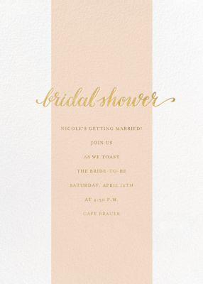 Bridal Stripe - Sugar Paper