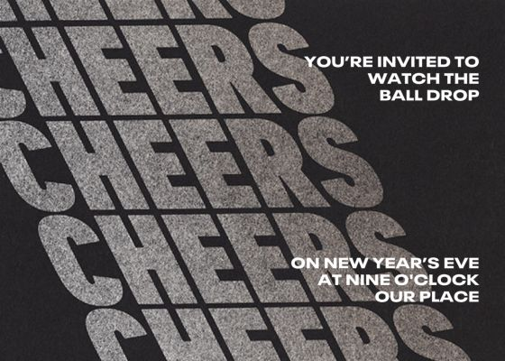 Cheers on Cheers - Paperless Post