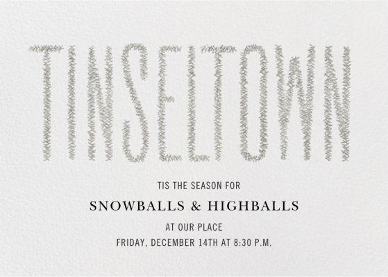 Tinseltown - Paperless Post