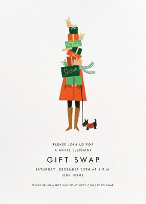 Season of Giving - Rifle Paper Co. - Holiday invitations