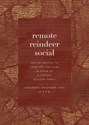 Prism Frame - Kelly Wearstler - Holiday invitations