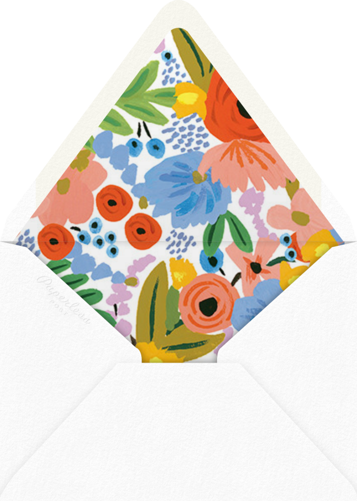 Mayday Bouquet - Rifle Paper Co. - Envelope
