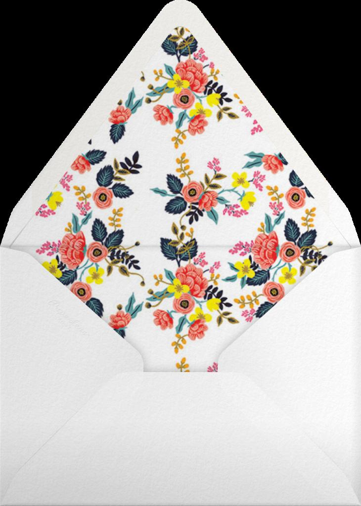 Birch Monarch (Frame) - Yellow - Rifle Paper Co. - Envelope