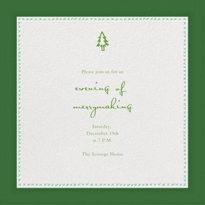 Crown Devon - Paperless Post - Holiday invitations