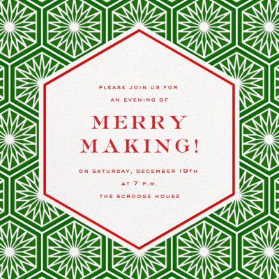 Positano - Jonathan Adler - Holiday invitations