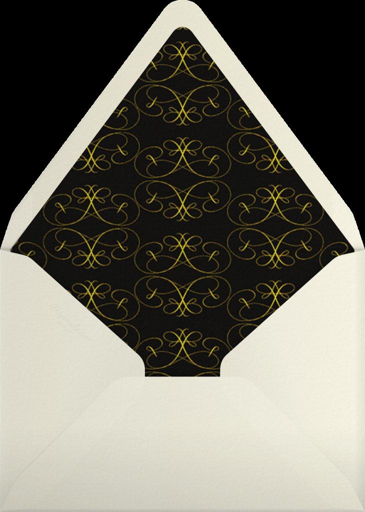 Dragonflies - Yellow Purple - Bernard Maisner - Envelope