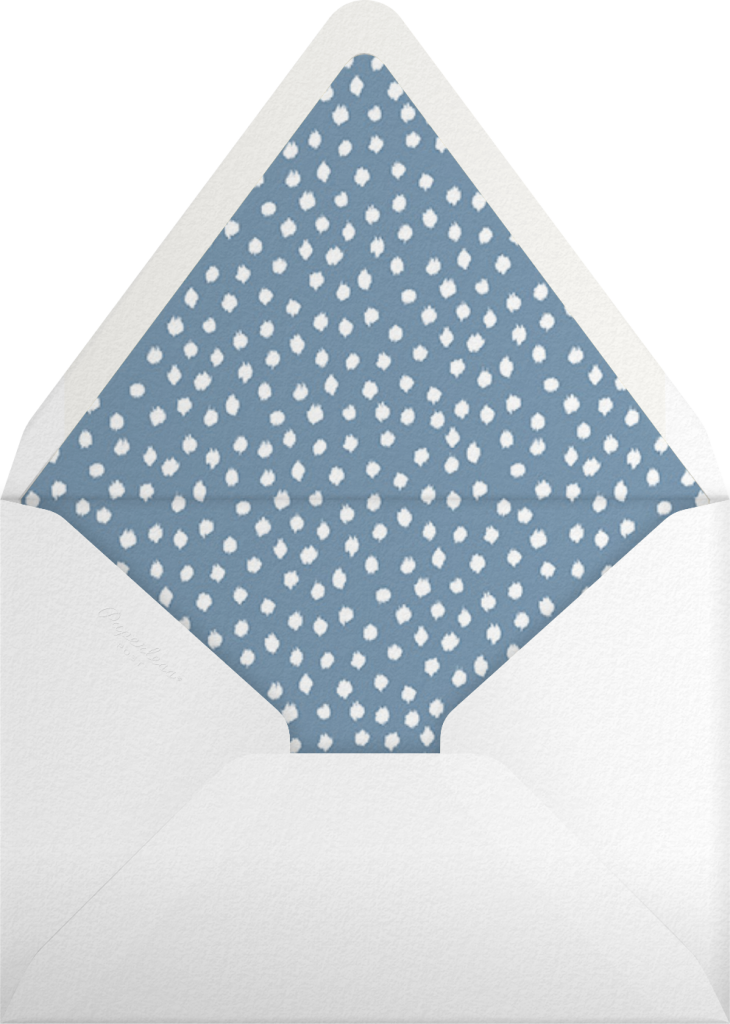 Camille - Aqua - Oscar de la Renta - Envelope