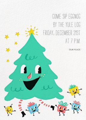 Dancing Tree (Invitation) - Hello!Lucky